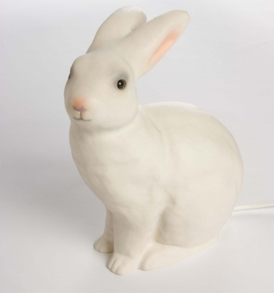 Heico bunny lamp, rabbit lamp, night light, children's and baby's light