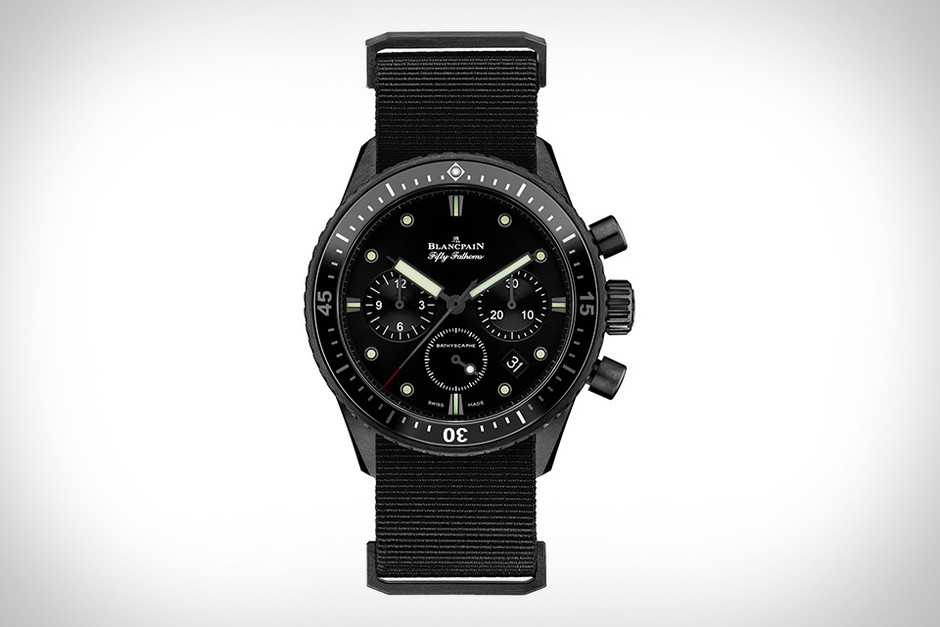 The Bathyscaphe welcomes a Flyback chronograph | Blancpain