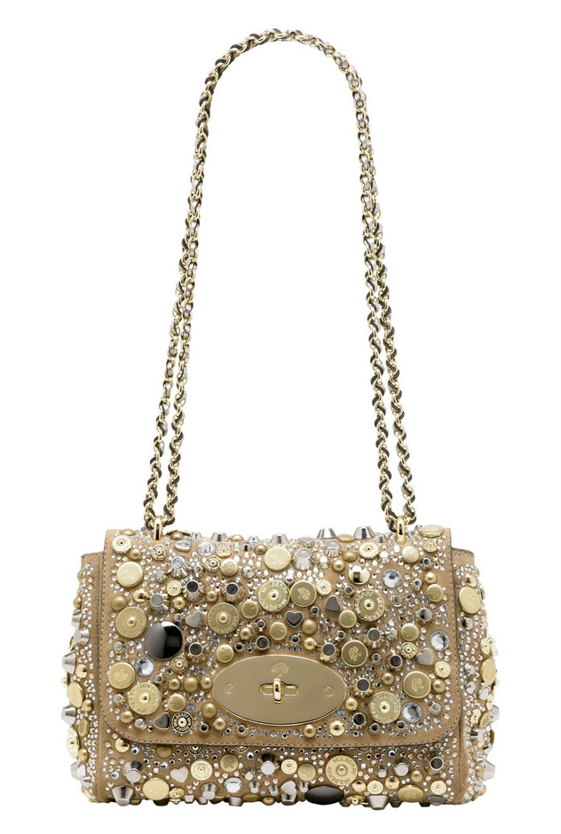 Mulberry Jeweled Lily Bag Dazzles With Swarovsky Crystals — eXtravaganzi