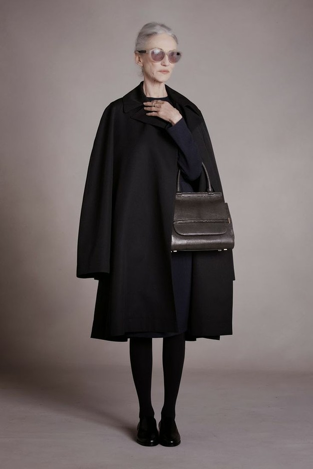 Otome style — Linda Rodin for The Row, prefall 2014