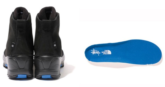 Stussy x The North Face - Snow Shot 6-Inch Boots - FreshnessMag.com