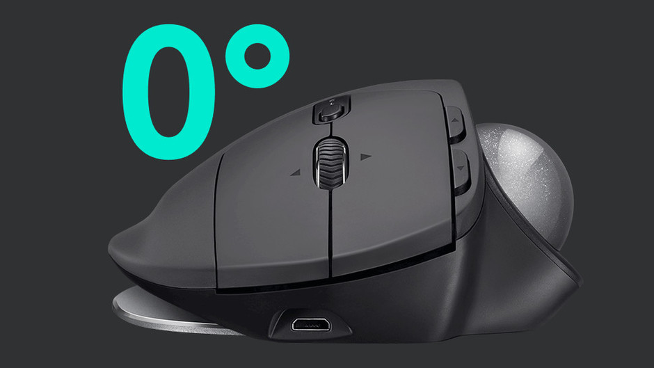 Logicool MX ERGO Wireless Trackball
