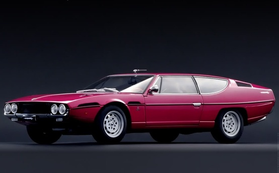 Design everything / Lamborghini Espada