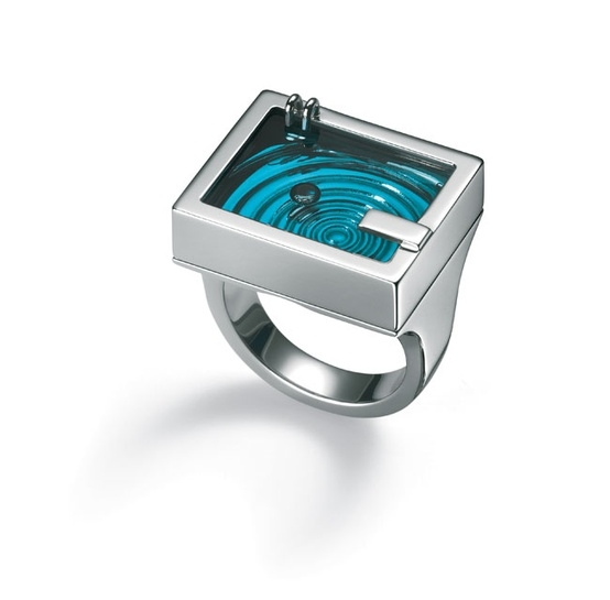 Pool party ring from Swatch Bijoux