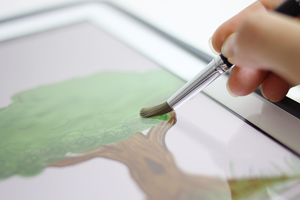 Sensu Artist Brush & Stylus for iPad and Touch Screen Devices - JetPens.com