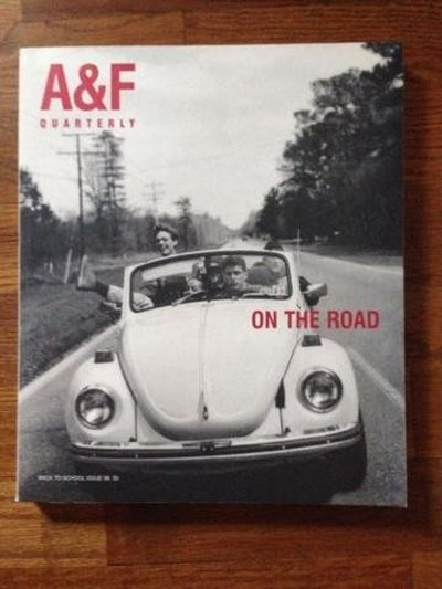 rare Abercrombie & Fitch A&F Quarterly Catalog 1998 On The Road by Bruce Weber (11/08/2014)