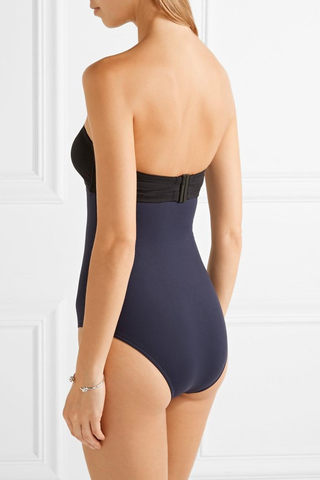Eres | + Véronique Leroy Mark convertible bandeau swimsuit | NET-A-PORTER.COM