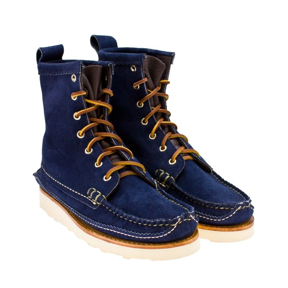 Kapok Maine Guide Boots Suede Navy