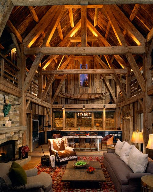 Exposed Beams | Cabins and Cottages