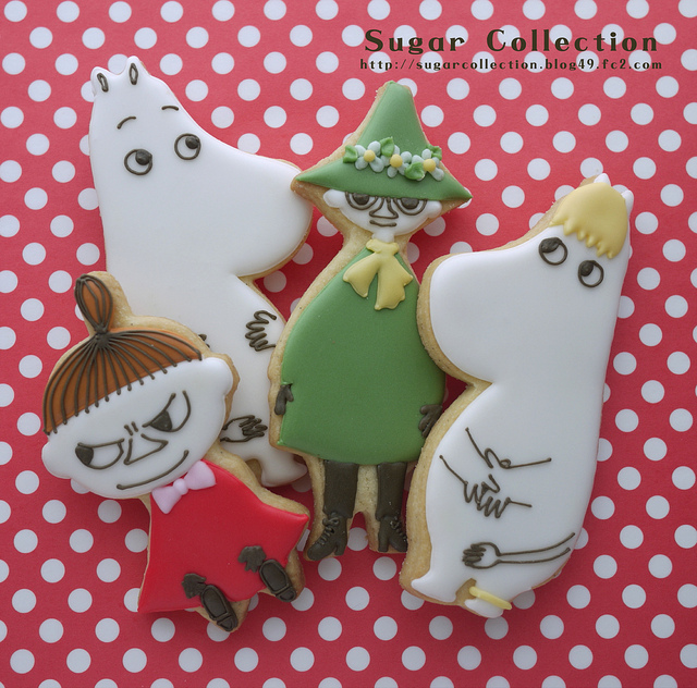 moomin cookies | Flickr - Photo Sharing!