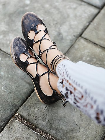 Free People Maelyn Cradle Flat at Free People Clothing Boutique