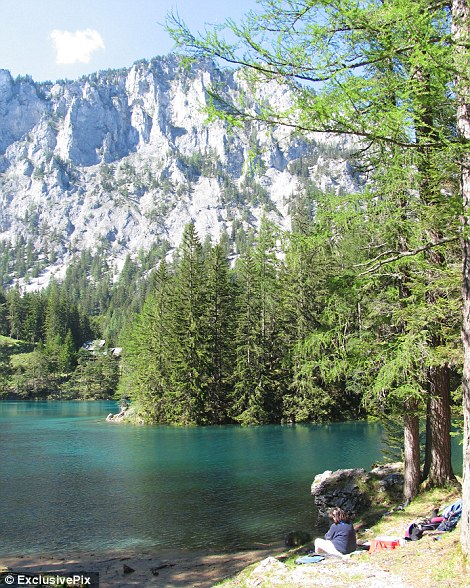 Austria's Green Lake: The park that becomes a lake for the summer | Mail Online