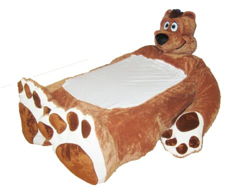 HOME, INSIDE: Incredibeds Plush bed frame Bo, Male brown bear