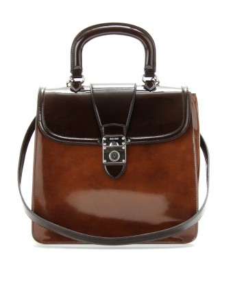 mytheresa.com - Miu Miu - BOXCALF SATCHEL - Luxury Fashion for Women / Designer clothing, shoes, bags