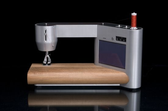 Animo sewing machine combines ergonomics with stylish details