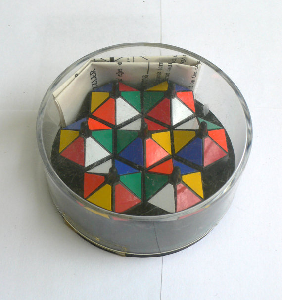 Vintage RUBIKS Rubik's Puzzle Game CIRCUS Model by spacegunmann
