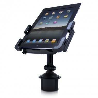 Satechi SCH-121 Cup Holder Mount for Smartphohes & Tablets: Kindle Fire, iPad, iPad 2, Asus Eee Pad Transformer, Motorola Xoom, Samsung Galaxy Tab, Galaxy 10.1, Viewsonic Gtablet, Blackberry Playbook, HTC Flyer, iPhone, BlackBerry [Back In Stock 3/30/12] - Holders - iPad & iPhone 4