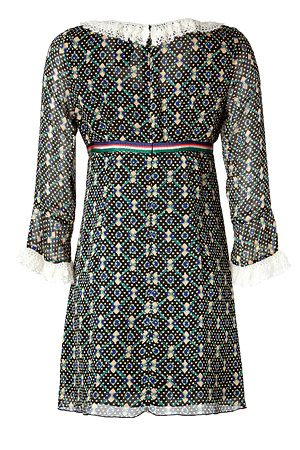 Dress in Black Multi from ANNA SUI | Luxury fashion online | STYLEBOP.com