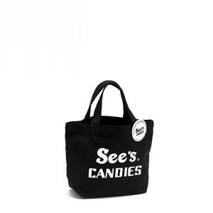 See's CANDIES その他の商品 トートバッグ(S)オリジナル缶バッジ付