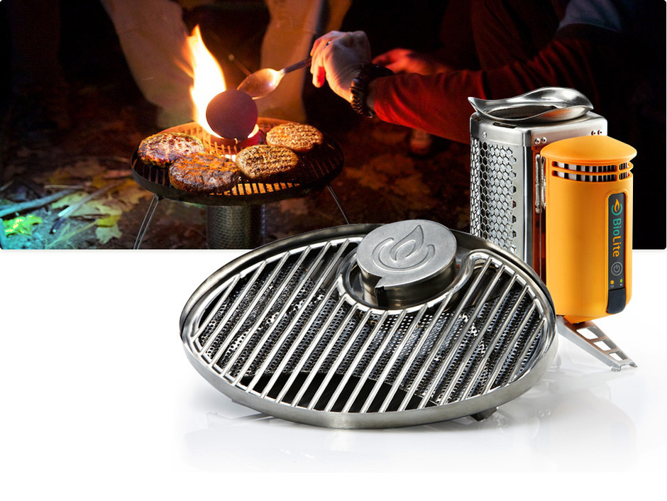 New Portable Gril Features - BioLite Stove