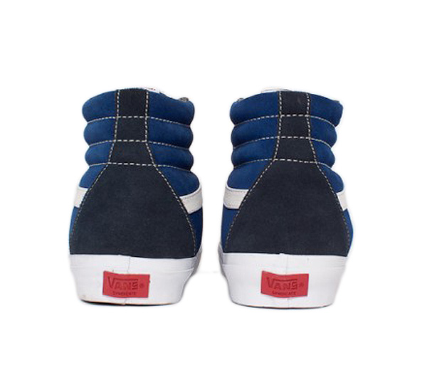 "Syndicate Sk8-Hi Pro ""S"" 35th Anniversary Jazz Stripe Pack Navy 