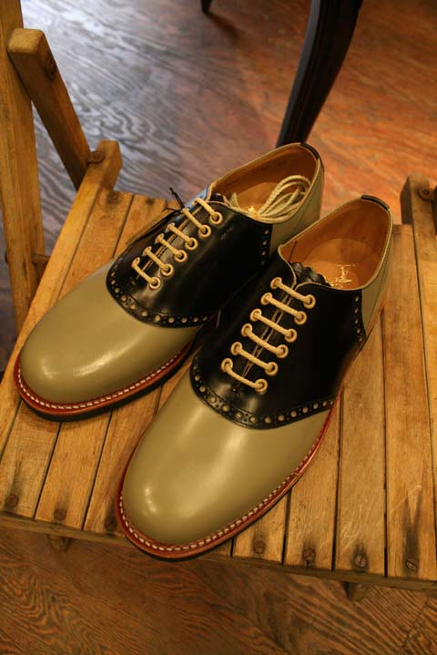 REGAL×GLAD HAND 「SADDLE SHOES 1」 2TONE サドルシューズ AMERICAN WANNABE