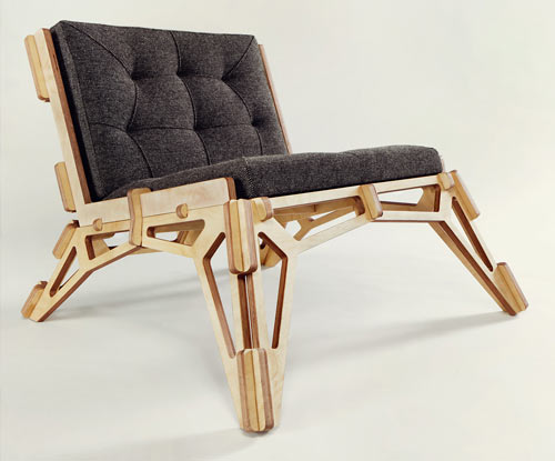 Spaceframe Furniture by Gustav Düsing | Design Milk