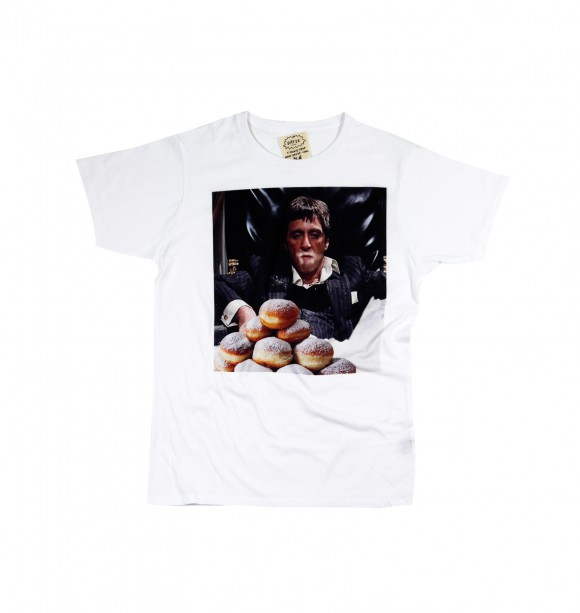 Original white t-shirt for men - Scarface - DAYZE | Curated by GRAFITEE
