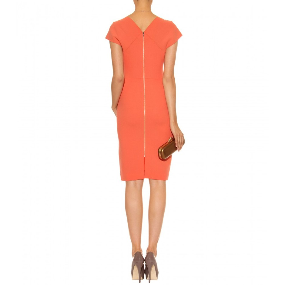 mytheresa.com - Roland Mouret - INDIA CREPE DRESS - Luxury Fashion for Women / Designer clothing, shoes, bags