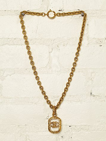 Vintage Chanel Necklace at Free People Clothing Boutique