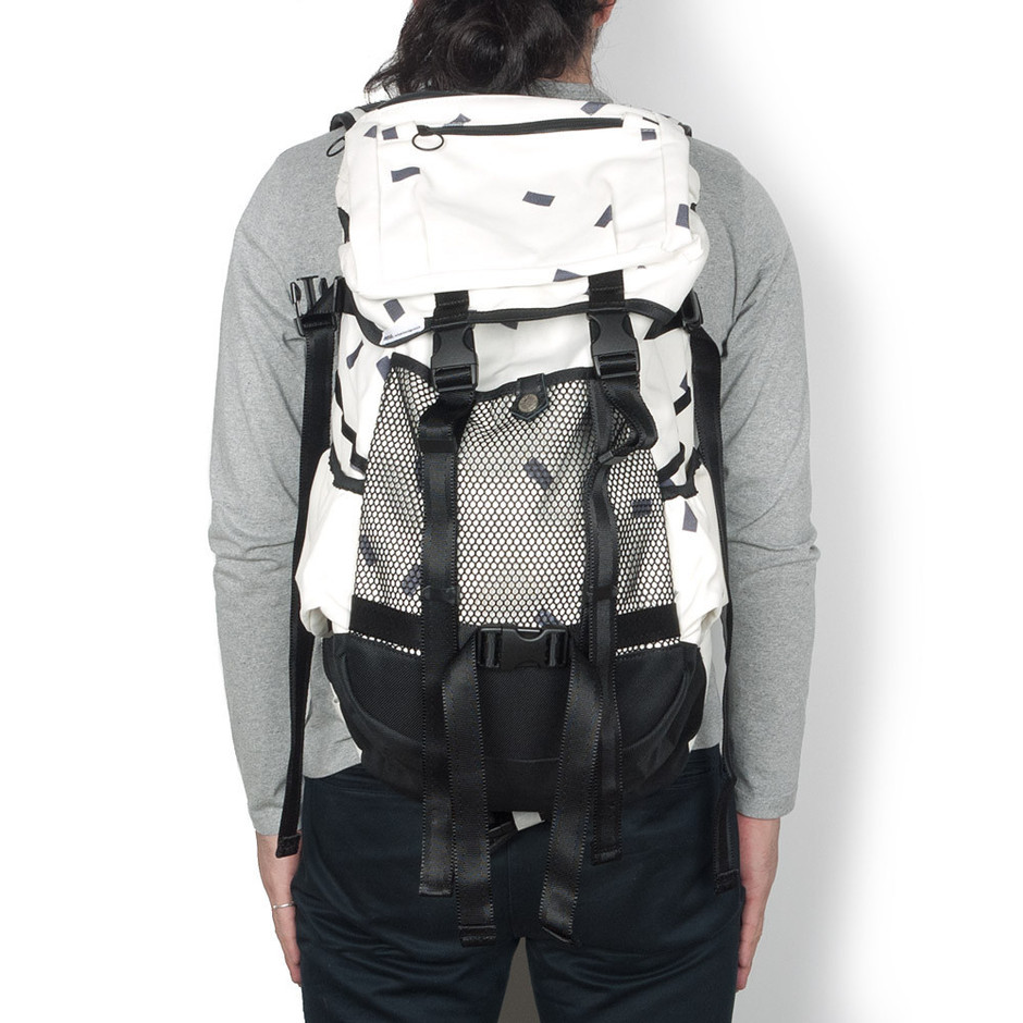 HAVEN — x immun. Recto Back Pack White