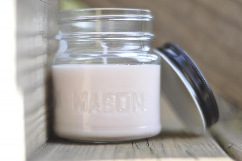 Pink Sugar Type Soy Candle 8oz Jar, Just In Time For Spring   Luulla