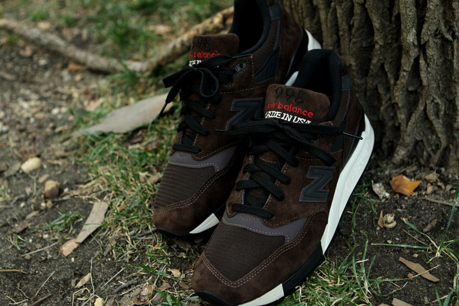 "New Balance 998 ""Made in the USA"" Brown 