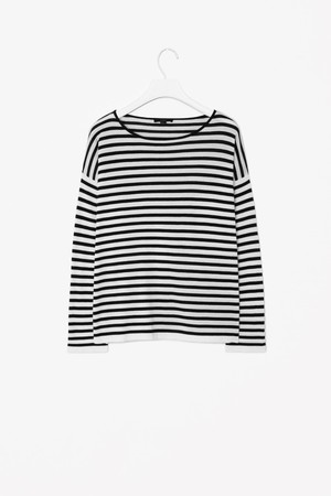 Relaxed striped jumper