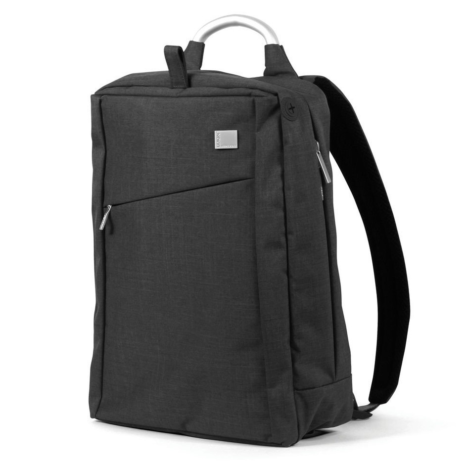 Airline Single Backpack - Wool Black – Lexon USA