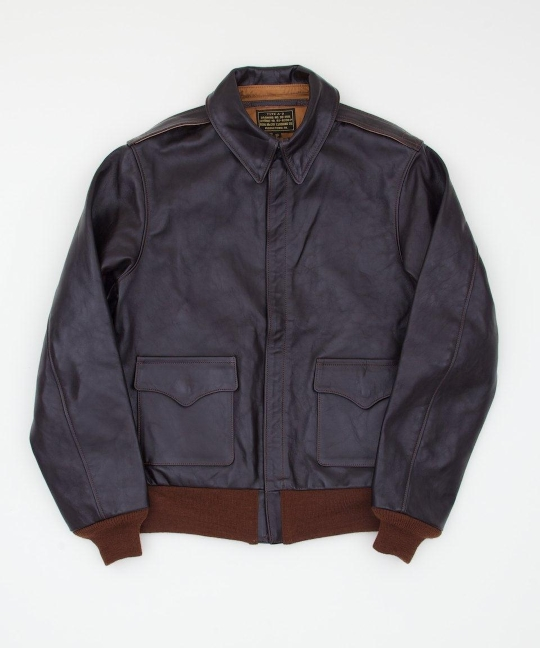 The Real McCoy's Type A-2 MFG Co. Leather Jacket - Superdenim