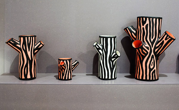 Wrong For Hay Hay Tree Trunk Vase By Richard Woods