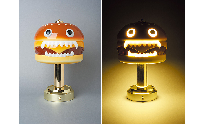 UNDERCOVER HAMBURGER LAMP:伝説のアイテムがサイズダウンして復刻。|NEWS -DESIGN-|honeyee.com Web Magazine