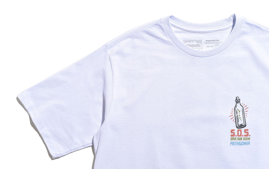 Men's Save Our Seeds Responsibili Tee-WHI