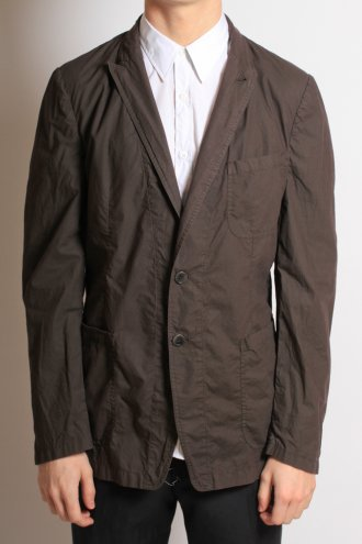 DRIES VAN NOTEN 'Carlson' Shirt Jacket in Aubergine - JACKETS from Autograph UK