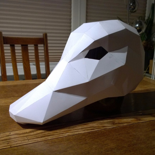 Make your own Duck Mask - Wintercroft