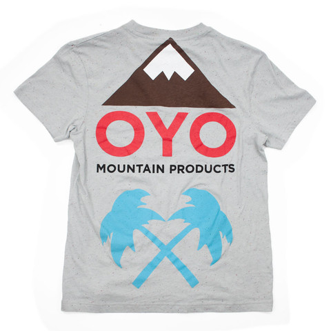 Oyo x Trainerspotter Pocket Tee | Oyo Mountain Products