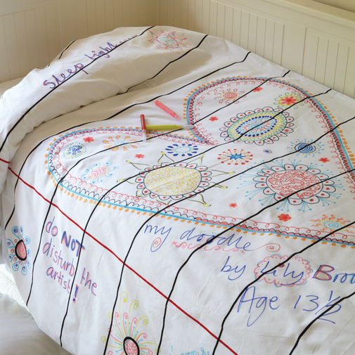 Doodle Duvet — Cox & Cox, the difference between house and home.