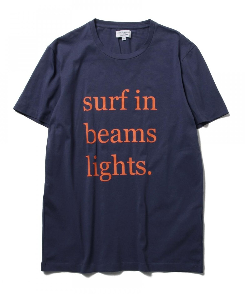 BEAMS LIGHTS(ビームス ライツ)CUISSE DE GRENOUILLE×BEAMS LIGHTS / 40th別注 サーフプリントTシャツ(Tシャツ・カットソー Tシャツ)通販|BEAMS