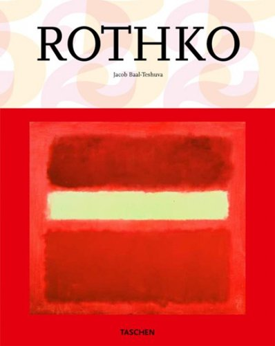 Amazon.co.jp: Mark Rothko: 1903-1970: Pictures As Drama (Taschen 25th Anniversary Special Edition): Jacob Baal-Teshuva: 洋書