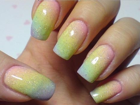Rainbow Nails | AnOther | Loves