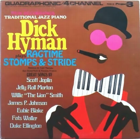 Dick Hyman / Plays Ragtime Stomp & Stride : まわるよレコード ACE WAX COLLECTORS