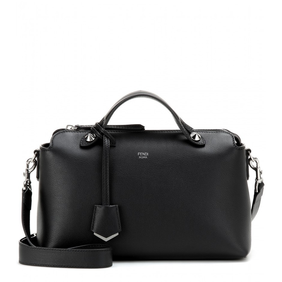 mytheresa.com - By The Way Small leather shoulder bag - Current week - New Arrivals - Fendi - Luxury Fashion for Women / Designer clothing, shoes, bags