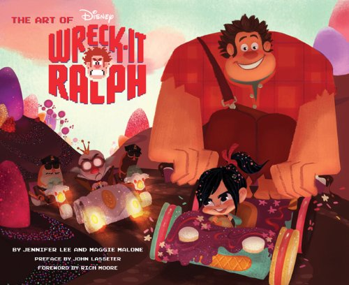 Amazon.co.jp: The Art of Wreck-It Ralph (The Art of Disney): Rich Moore, Maggie Malone, Jennifer Lee, John Lasseter: 洋書