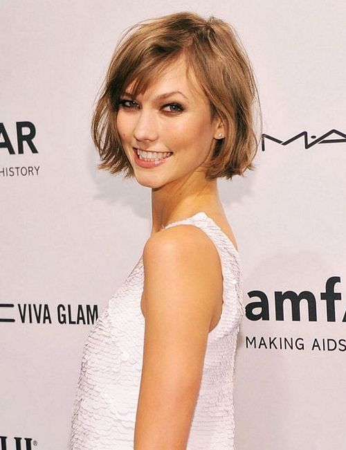 Beauty / Gorgeous! #karliekloss #hair #thechop #bob #recarpet